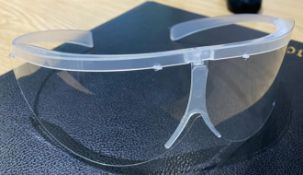 6,000 x Protective Disposable Safety Goggles - PPE Safety Equipment - Latex Free - One Size - Splash