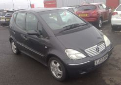 2002 Mercedes-Benz A Class 1.4 A140 Avantgarde Automatic  5dr - CL505 - NO VAT ON THE HAMMER -