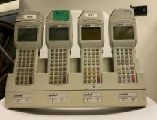 4 x Symbol PDT 3100 Barcode Scanner with Quad Charging Cradle - Location: Altrincham WA14 -