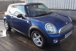 2008 Mini Cooper 3Dr Hatchback
