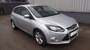 2013 Ford Focus 1.6 TDCi 115 Zetec 5dr Hatchback - CL505 - NO VAT ON THE HAMMER - Location: Corby, N