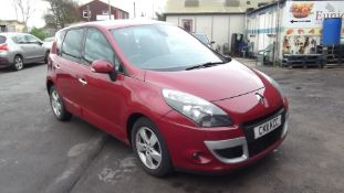 2011 Renault Scenic 1.5 DCI Dynamique Tom Tom 5 Door MPV