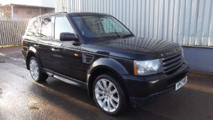 2007 Land Rover Range Rover Sport 2.7 TDV6 5Dr 4x4 - CL505 - NO VAT ON THE HAMMER - Locatio