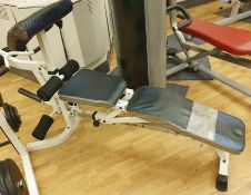 1 x Marley Sit Up Exercise Bench - CL552 - Location: Altrincham WA14
