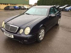 2001 Mercedes Clk320 Avantgarde Auto 3 Dr Coupe - CL505 - NO VAT ON THE HAMMER