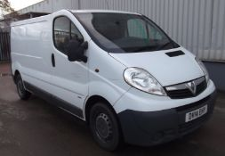 2014 Vauxhall Vivaro 2900 Cdti Lwb high roof panel van 5Dr