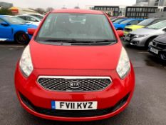 2011 Kia Venga 2 Ecodynamics Crdi 5Dr Hatchback - CL505 - NO VAT ON THE HAMMER