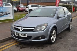 2007 Vauxhall Astra Sri Cdti 150 3Dr Hatchback - CL505 - NO VAT ON THE HAMMER