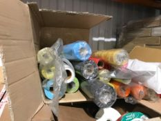 Assorted Pallet of Various Rolls of Fabric and Ribbon - Ref: PP205 - Location:Hoddesdon EN11Auction