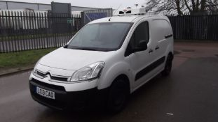 2013 Citroen Berlingo 625 Lx Hdi 5Dr CDV van - CL505 - NO VAT ON THE HAMMER - Location: Corby, North