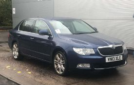 2013 Skoda Superb 2.0 TDI CR DPF SE 5dr Hatchback - CL505 - NO VAT ON THE HAMMER - Locatio
