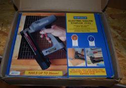1 x Rapesco Electric Nailer / Stapler Kit Model 191EL Includes Original Box and Acessories