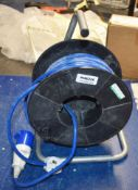1 x 250v 16 Amp Extension Cable Reel PME226