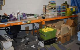 1 x Large Workbench Made From Pallet Racking PME285
