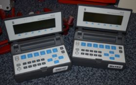 2 x Wandel & Goltermann Digital Communications Analyzers - Model PFA-30 - Ref WHC162 WH2 - CL011 -
