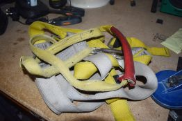 1 x Assorted Job Lot Including Various Safety Harnesses, Filing Cabinet, Electronic Temp Controller