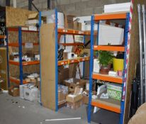 4 x Bays of Warehouse / Garage Shelving