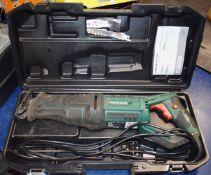 1 x Parkside Sabre Saw With Carry Case 240v Model PFS 710 C2 PME172