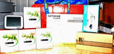 1 x Assorted Job Lot Netgear Access Point, Mobile WIFI Devices, Sat Nav, Energy Monitor and More