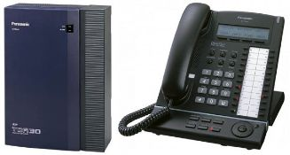 1 x Panasonic KXTDA30 Office Telephone System With 206 Electronic Modular Switching System