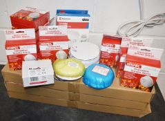 1 x Assorted Collection to Include 39 x HiSpec Ionisation Smoke Alarms and More!