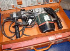 1 x Metabo Bohrhammer BH 1131 S Automatic 240v Hammer Drill With Selection of Various Drill Bits
