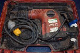 1 x Hilti TE 16M 110v Hammer Drill With Carry Case PME134