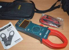 1 x Martindale CM54 ACA Digital Clamp Meter With Protective Case, Manual and Accessories