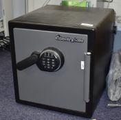 1 x Sentry Fire Safe With Combination Lock Code Included Size H46 x W42 x D44 cms