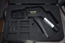 4 x Pressmaster PCC 5310 Coax Crimping Tools With Dies and Carry Cases - RRP £720 - Ref WHC107 WH1 -