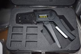 4 x Pressmaster PCC 5310 Coax Crimping Tools With Dies and Carry Cases - RRP £720 - Ref WHC109 WH1 -