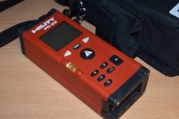 1 x Hilti PD22 Laser Measure Range Meter With Protective Case  SRB194