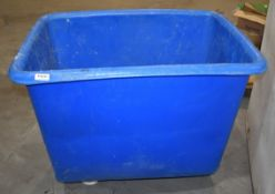 2 x Large Container Bins on Castors PME289