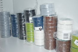 Approx 67 x Rolls of Newlec Electrical Wire Tape Unused Stock PME303