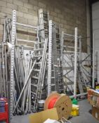 3 x Bays of Pallet Racking Includes 4 x Uprights and 18 x Cross Beams