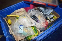 1 x Storage Crate Containing Large Quantity of Cable Markers