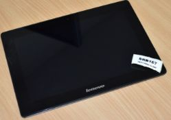 1 x Lenovo S6000 10.1inch Tablet Featuring a Quad Core 1.2GHz Processor, 1GB RAM, 32GB Storage
