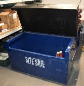 1 x Site Safe Tool Storage Chest Ideal For Use on Worksites and Vans To Help Protect Your
