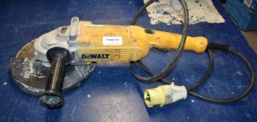 1 x DeWalt Corded Angle grinder 2000W 110V 230mm Model D28490LX PME151