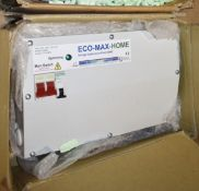 1 x EcoMax Home Voltage Optimisation 63 Amp Unit RRP £540 PME364