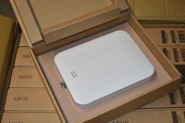 5 x Cisco Meraki MR18 DualBand CloudManaged Wireless Network Access Points Brand New Stock