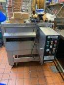 1 x Zanolli Synthesis 08/50 V Conveyor Pizza Oven With Stand - Requires repair - CL633 - Location: