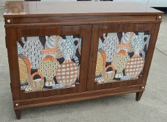 1 x JUSTIN VAN BREDA 'Grace' 2.5 Metre 4-Door Dresser With Inlaid Artwork - Original Price £6,359