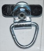 10 x Swivel D Ring Brackets For Truck Beds, Vans, Boats etc - Part No CS7 - New and Unused - CL622 -