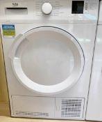 1 x BEKO Freestanding 8kg Condenser Tumble Dryer- Model: DTLCE81031 - NO VAT ON THE HAMMER
