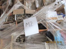 1 x Assorted Pallet Lot From Ironmongery Hardware Retailer - Unused Stock - CL538 - Ref: Pallet M2 -