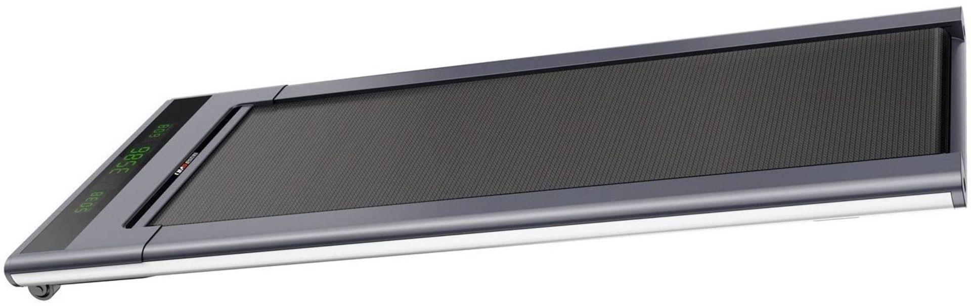 1 x Slim Tread Ultra Thin Smart Treadmill Running / Walking Machine - Lightweight With Folding - Image 21 of 23