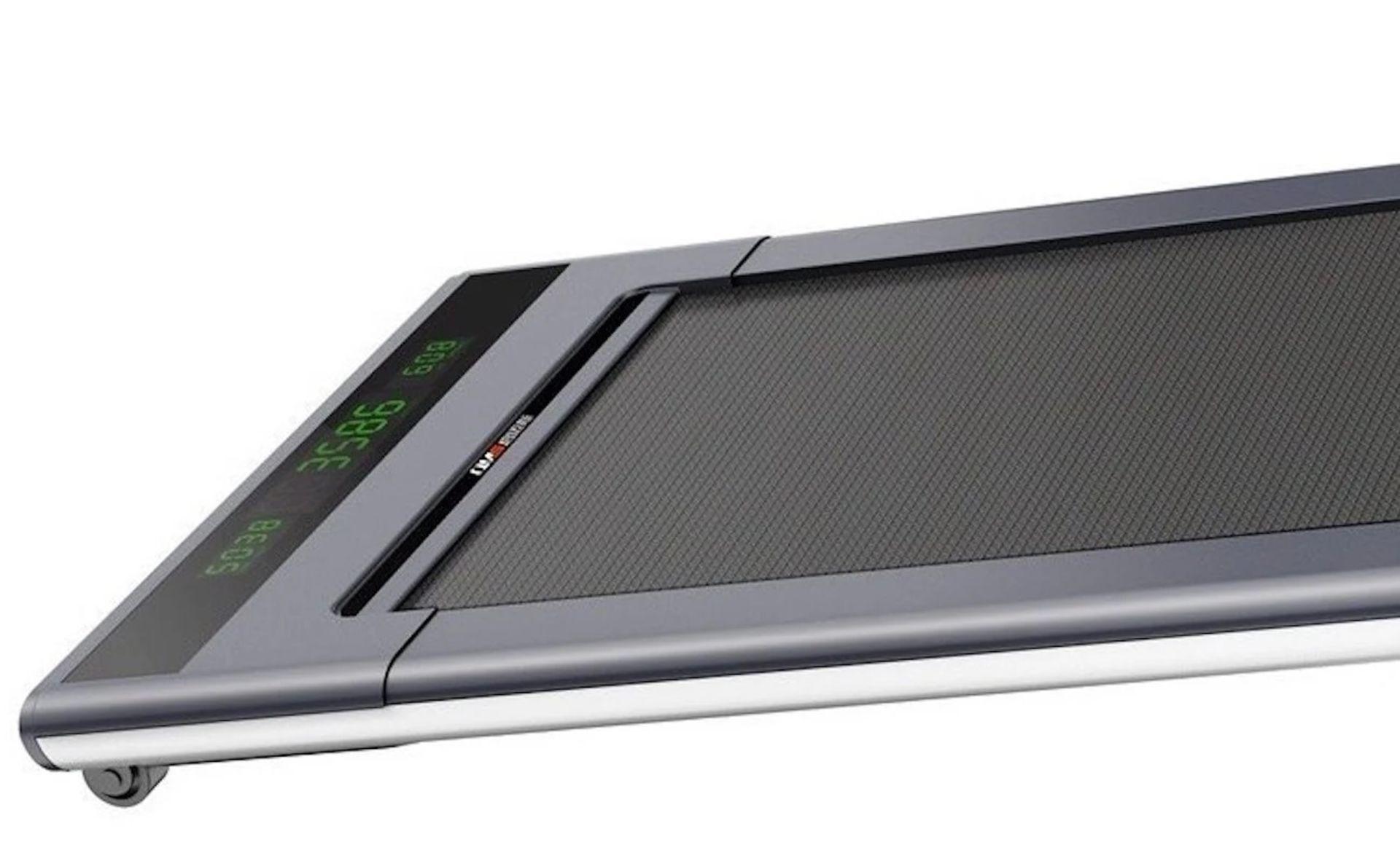 1 x Slim Tread Ultra Thin Smart Treadmill Running / Walking Machine - Lightweight With Folding - Image 20 of 23