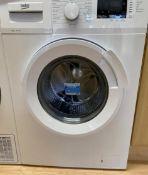 1 x BEKOFreestanding 8kg 1400rpm Washing Machine - Model: WTL84131 -NO VAT ON THE HAMMER - Ref: