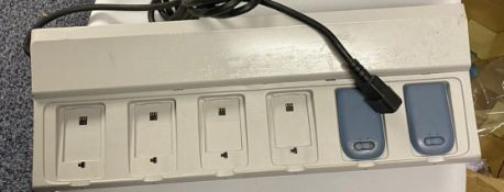 3 x Ascom Battery Pack Charger - Ref: CR4-AAAA - Used condition - Location: Altrincham WA14